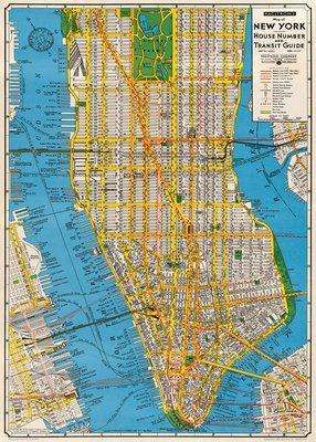 Cavallini & Co. New York City Map Decorative...