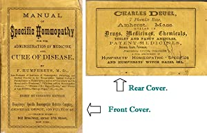 Manual of Specific Homeopathy for the Administration: D., P. Humphreys