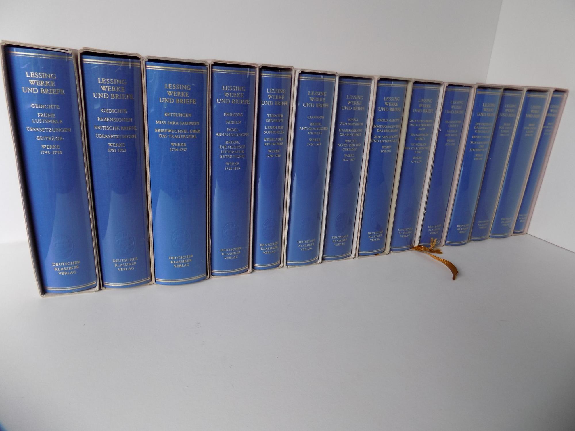 Lessing Werke Und Briefe In 12 Bänden : Werke briefe zwölf bänden band von lessing gotthold