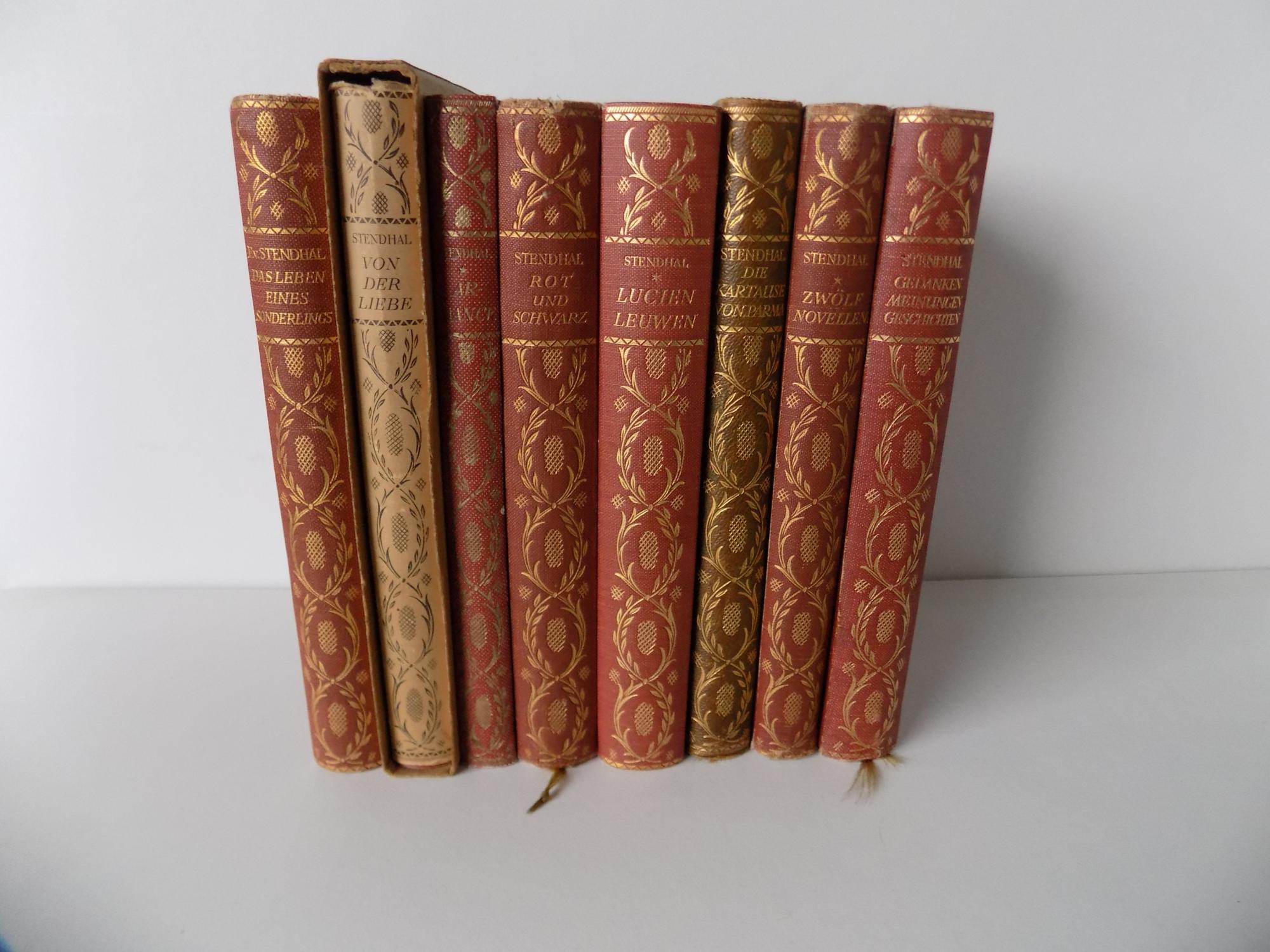 Gesammelte [in der Verlagsanzeige im Buch jedoch: Ausgewählte] Werke. Übersetzt von Arthur Schurig und Otto Freiherrn von Taube. Mit Doppeltiteln und