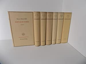 Sämtliche Werke. Herausgegeben vom Rilke-Archiv in Verbindung: Rilke, Rainer Maria