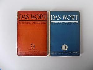 Das Wort. Literarische Monatsschrift. Konvolut von 14: Brecht, Bertolt, Lion