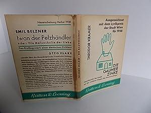Die Gaunerzinke. Gedichte.: Kramer, Theodor