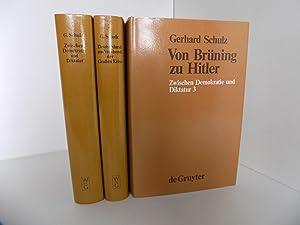 Zwischen Demokratie und Diktatur. Verfassungspolitik und Reichsreform: Schulz, Gerhard
