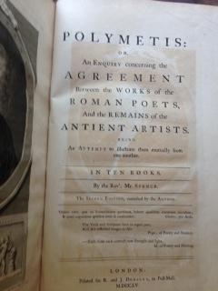 Polymetis : An Inquiry Concerning the Agreement Between the Works of the Roman Poets, and the ...