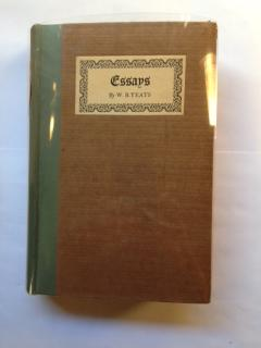 Essays.: Yeats, W.B. [or William Butler]