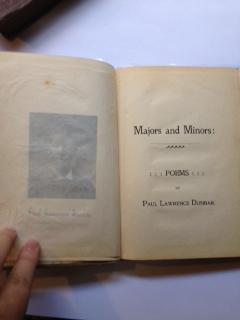 Majors and Minors : Poems: Dunbar, Paul Lawrence (sic) (Laurence)