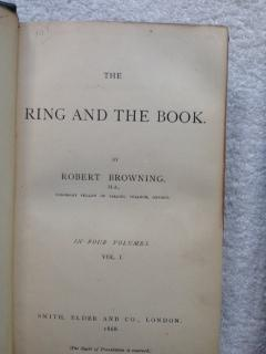 The Ring and The Book: Browning, Robert