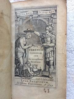 Pvb. Terentii Comoediae Sex Ex Recensione Heinsiana.: Terentius Afer, Publius
