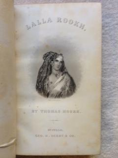 Lalla Rookh, an Oriental Romance.: Moore, Thomas