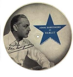 """John Barrymore as """"Hamlet"""": Barrymore, John"""