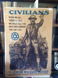 Original World War I Era Poster - The Jewish Welfare Board: Anonymous