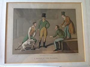 "Original Aquatint Engraving - ""A Match at the Badger"": Aiken, Henry Thomas"