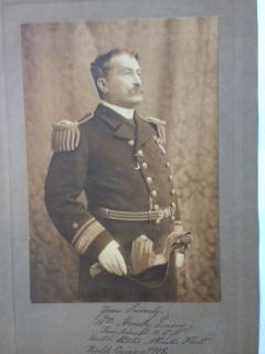 Original Sepia Portrait Photograph - William Hemsley Emory: Emory, William Hemsley