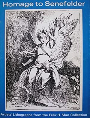 HOMAGE TO SENEFELDER, Artists' lithographs from the: MAN, Felix H.