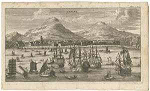 Antique Print of Japare (Semerang, Indonesia) published c. 1680