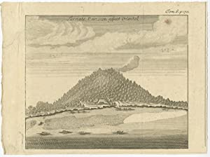 Antique Print of Ternate (Indonesia) II by R.A.C. de Renneville (1706)
