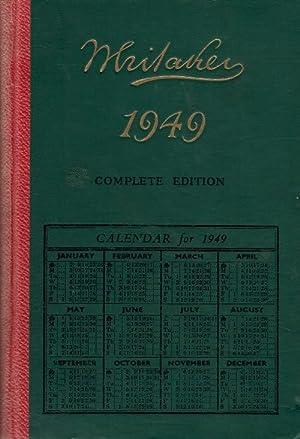 Whitaker's Almanack. 81st Edition. 1949: Whitaker, Joseph