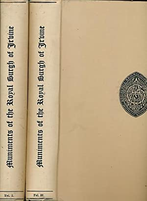 Muniments of the Royal Burgh of Irvine. 2 volume set: Shedden-Dobie, John [ed.]