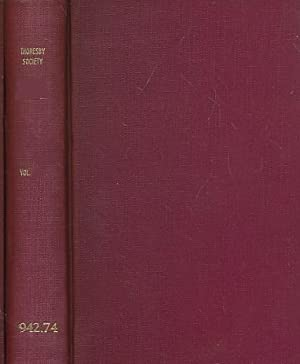 The Thoresby Miscellany. Volume 13. The Publications of the Thoresby Society. Volume XLVI. 1963: ...