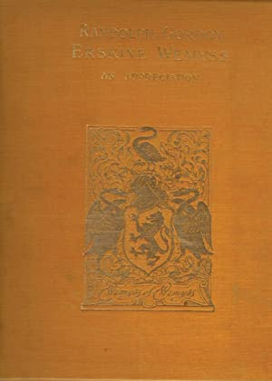 Randolph Gordon Erskine Wemyss: An Appreciation. Limited Edition: Cunningham, A S