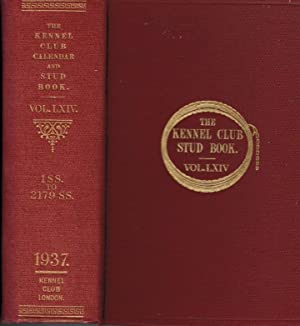 The Kennel Club Calendar and Stud Book For the Year 1936. The Only Record Published in England Of ...