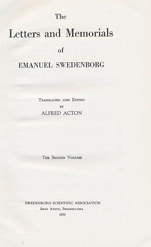Letters and Memorials of Swedenborg [1748 - 1772]. The Second Volume: Swedenborg, Emanuel