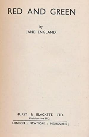 Red And Green: England, Jane