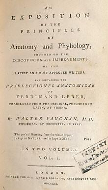 An Exposition of the Principles of Anatomy and Physiology, Founded on the Discoveries and ...