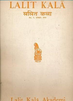 Lalit Kala. A Journal of Oriental Art Chiefly Indian. No. 7 April 1960: Khandalavala, Karl; Chandra...