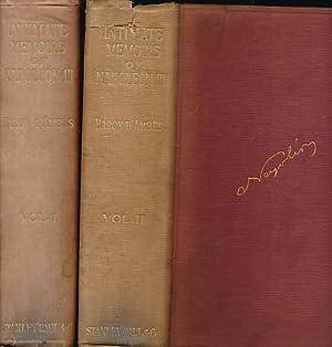 Intimate Memoirs of Napoleon III. Personal Reminiscences: D'Ambrès, Baron; Allinson,