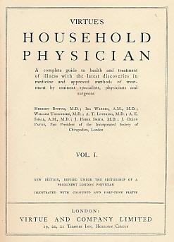Virtue's Household Physician: 4 volume set: Virtue and Company]