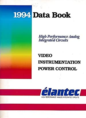 Élantec 1994 Data Book. High Performance Analog Intergrated Circuits: Élantec
