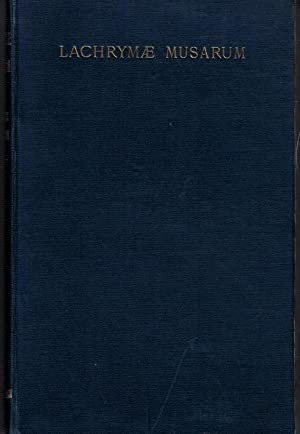 Lachrymae Musarum and Other Poems: Watson, William