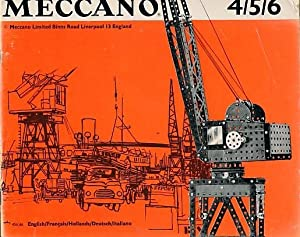 Meccano Instructions, Outfit Nos. 4 / 5 / 6: Meccano