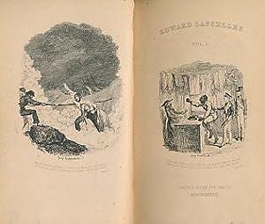 Scenes from the Life of Edward Lascelles, Gent. 2 Volume set: Lascelles, Edward; Cruikshank, George...