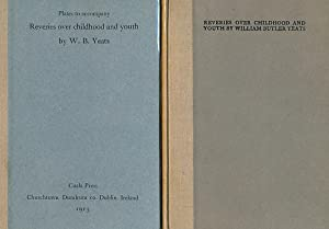 Reveries Over Childhood and Youth. Two volumes: Yeats, William Butler
