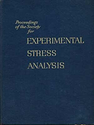 Proceeding of the Society for Experimental Stress Analysis. Volume XVII, Number I. 1959: Mahlmann, ...