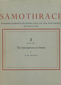 Samothrace. Excavations Conducted by the Institute of Fine Arts, New York University. Volume 2 [...