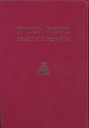 Pesahim. Hebrew - English Edition of the Babylonian Talmud: Tractate Pesahim: Freedman, H [trans.] ...