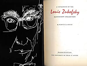 A Catalogue of the Louis Zukofsky Manuscript Collection: Booth, Marcella