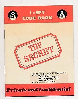 I-Spy Code Book: Big Chief I-Spy