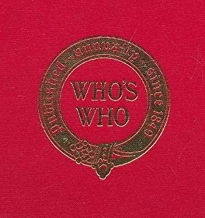 Who's Who 1982. An Annual Biographical Dictionary: Black