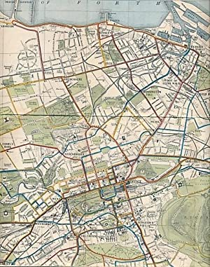 Edinburgh Corporation Transport Department Tram and Bus Map: Fitzpayne, F A [ed.]