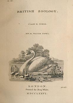 British Zoology. 4 volume set: Pennant, Thomas