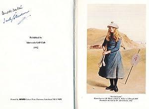 Golf at Alnmouth. Signed Copy: Walton, D P;