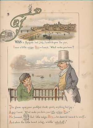 Misadventures at Margate. A Legend of Jarvis's Jetty. Pictured by Ernest M. Jessop: Ingoldsby,...