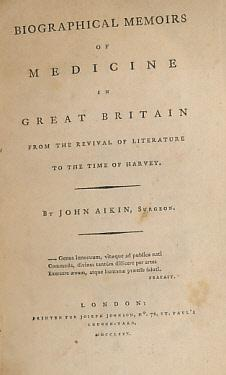 Biographical Memoirs of Medicine in Great Britain from the Revival of Literature to the Time of ...
