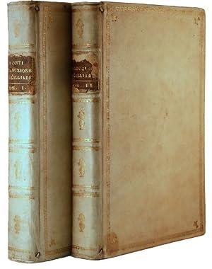 Iliade di Omero [Homer's Iliad]. Two volume: Homer; Monti, Vincenzo