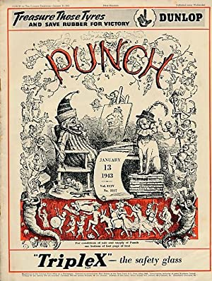 Punch, Or the London Charivari. January 13th 1943. No 5317: Mr Punch
